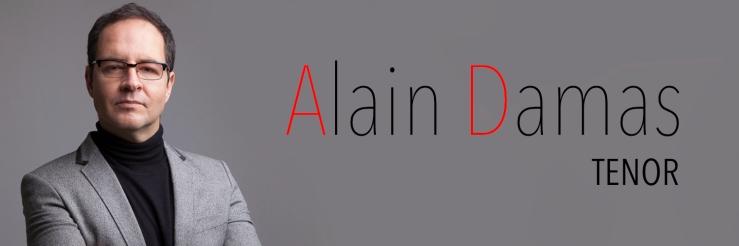 Alain Damas - Tenor